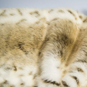 Fausse fourrure au mètre Tissu fausse fourrure imitation lynx couleur beige – 1367 Beige lynx