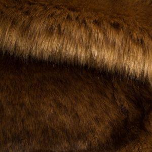 Fausse fourrure au mètre Fausse fourrure sibérienne de luxe brun camel – 1539 Siberian Camel