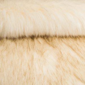 Fausse fourrure de luxe Fausse fourrure sibérienne de luxe blanc crème – 1539 Siberian Cream