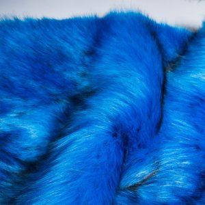 Fausse fourrure de luxe Fausse fourrure sibérienne de luxe bleu océan – 1539 Siberian Ocean Blue