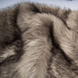 Fausse fourrure de luxe Fausse fourrure sibérienne de luxe gris acier – 1539 Siberian Steel Grey