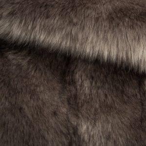 Fausse fourrure au mètre Fausse fourrure sibérienne de luxe gris acier – 1539 Siberian Steel Grey