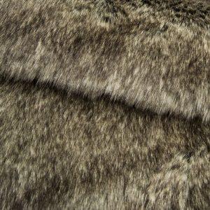 Fausse fourrure au mètre Tissu fausse fourrure super doux gris clair – 1552 Charcoal Grey