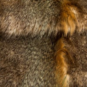 Fausse fourrure au mètre Tissu fausse fourrure imitation loup beige/brun – 3002 Beige Wolf