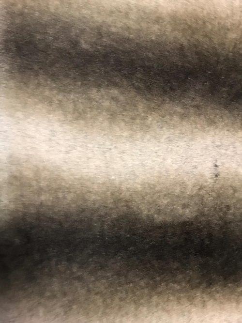 Fausse fourrure au mètre Tissu fausse fourrure super doux chinchilla crème beige / brun – 3011 Grey Rabbit