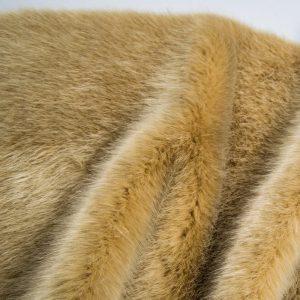 Fausse fourrure de luxe Fausse fourrure de luxe super douce beige – 3025 Beige