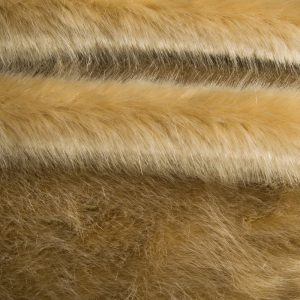 Fausse fourrure au mètre Fausse fourrure de luxe super douce beige – 3025 Beige