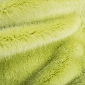 Fausse fourrure de luxe Fausse fourrure de luxe super douce vert olive clair – 3025 Willow
