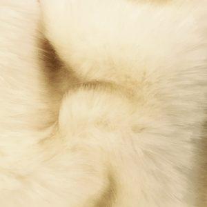 Fausse fourrure de luxe Fausse fourrure de luxe blanc crème super douce – 3080 Cream