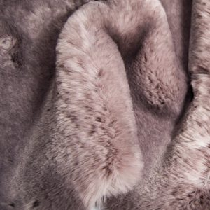 Fausse fourrure au mètre Tissu fausse fourrure super doux taupe – 3105 Taupe/Dk. Taupe
