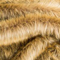 Fausse fourrure au mètre Fausse fourrure imitation renard beige moyen – 7552 Alsation