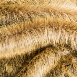 Fausse fourrure de luxe Fausse fourrure imitation renard beige moyen – 7552 Alsation