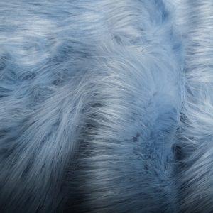 Fausse fourrure de luxe Fausse fourrure imitation renard bleu pâle – 7552 Powder Blue