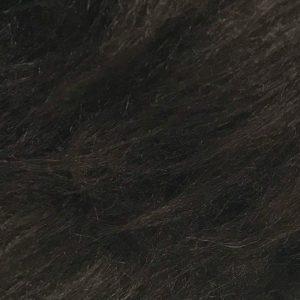 Fausse fourrure au mètre Fausse fourrure brun noisette à poil long – AC356-Nut