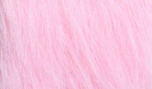 Fausse fourrure au mètre Fausse fourrure rose à poil long – AC356-Blossom