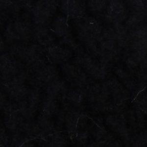Fausse fourrure au mètre Tissu fausse fourrure noire façon mouton pour doublure – K7 SF-BLACK HA 1062