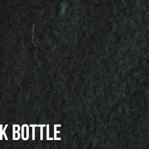 Fausse fourrure au mètre Tissu polaire uni vert bouteille foncé, anti-pilling – Dark Bottle