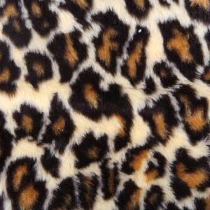 Fausse fourrure au mètre Fausse fourrure léopard pour déguisement – R2/60/3 103/1 Leopard 1/1