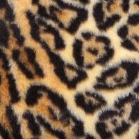 Fausse fourrure au mètre Fausse fourrure jaguar pour déguisement – R2/60/3 dessin FG 81/1