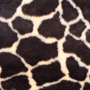 Fausse fourrure au mètre Fausse fourrure girafe pour déguisement – R2/60/2 FG 1430/1 giraffe 921/1