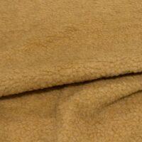 Fausse fourrure au mètre Tissu fausse fourrure marron camel façon mouton pour doublure – K7/SF-CAMEL HA 1051