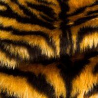 Fausse fourrure au mètre Fausse fourrure tigre pour déguisement – R2/60/3 FG791/1 Tiger