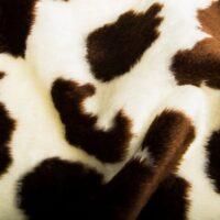 Fausse fourrure au mètre Fausse fourrure vache pour déguisement – R2/60/2 100/6