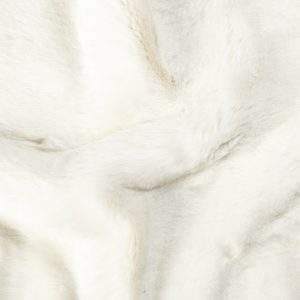 Fausse fourrure de luxe Tissu fausse fourrure super doux crème – 1550 Cream