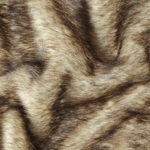 Fausse fourrure de luxe Tissu fausse fourrure super doux beige – 1552 Grey Beige