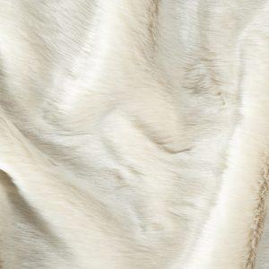 Fausse fourrure de luxe Tissu fausse fourrure super doux blanc sable – 1557 Sand White
