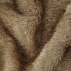 Fausse fourrure au mètre Fausse fourrure de luxe brun camel super douce – 3080 Camel / Brown