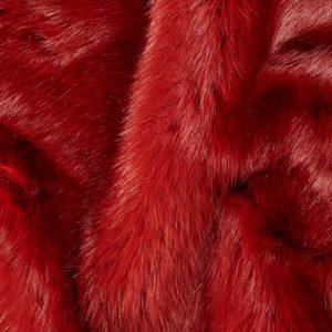 Fausse fourrure de luxe Fausse fourrure de luxe rouge terracotta super douce – 3080 Terracotta