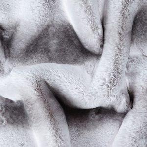 Prix en baisse Tissu fausse fourrure super doux chinchilla naturel – 3106 Silver Chinchilla