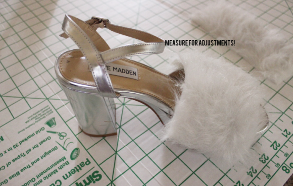 faux fur sandals6