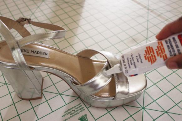 faux fur sandals8