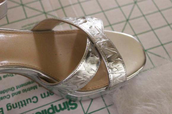 faux fur sandals9