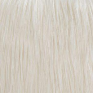 Fausse fourrure de luxe Tissu fausse fourrure crème à poil long façon yéti – 1568 Cream