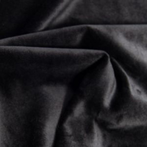 Fausse fourrure au mètre Tissu fausse fourrure microfibre noir au mètre super doux – 2R271 Black