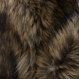 Fausse fourrure de luxe Tissu fausse fourrure super doux brun beige – 1452 beige brown