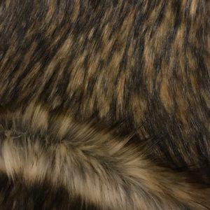 Fausse fourrure de luxe Tissu fausse fourrure super doux gris beige – 1575 Grey Beige