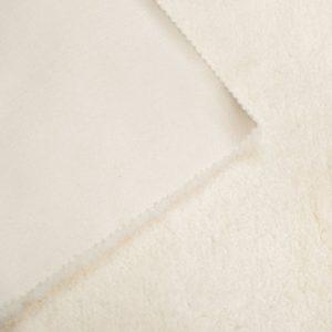Fausse fourrure de luxe Fausse fourrure crème super douce façon lapin – Saluki 2R333 Cream