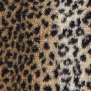 Fausse fourrure au mètre Fausse fourrure léopard pour déguisement – R2/60/3 FG 454/1 Baby leopard 126/1
