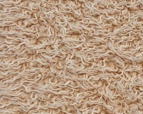 Fausse fourrure au mètre Tissu fausse fourrure bouclé pas cher, couleur brun beige – AC530 Old Bear