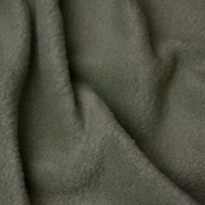 Fausse fourrure au mètre Tissu polaire uni vert avocat, anti-pilling – Avocado