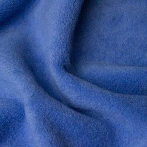 Fausse fourrure au mètre Tissu polaire uni bleu ciel foncé, anti-pilling – Dark-Sky