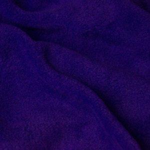 Fausse fourrure au mètre Tissu polaire uni violet, anti-pilling – Purple