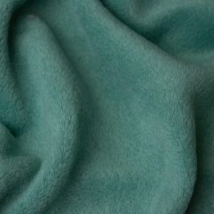 Fausse fourrure au mètre Tissu polaire uni vert sauge, anti-pilling – Sage