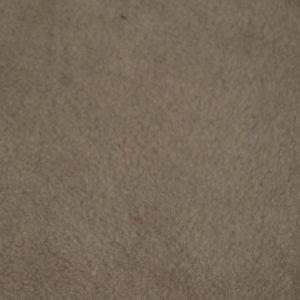 Fausse fourrure au mètre Tissu polaire uni gris taupe, anti-pilling – Taupe