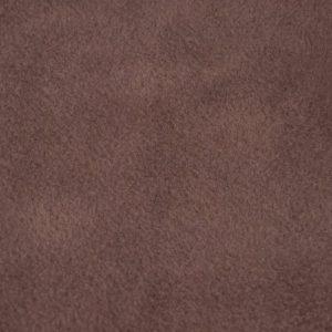 Fausse fourrure au mètre Tissu polaire uni brun tabac, anti-pilling – Tobacco