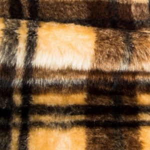 Fausse fourrure au mètre Fausse fourrure Burberry pour déguisement – R2/60/3 826/1